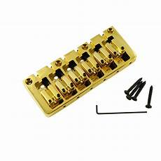 6 string bass bridge wd products 6 string bass bridge gold