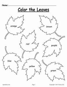 addition worksheets tes 9061 free fall leaf color words worksheet fall preschool activities homeschool worksheets fall