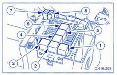 jaguar xj8 4 0 2001 fuse box block circuit breaker diagram carfusebox