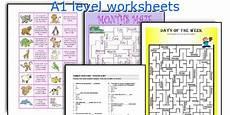 worksheets a1 18776 a1 level worksheets