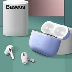 Baseus Ultra Thin Silicone Shockproof Earphone by Baseus Ultra Thin Soft Silicone Airpods Pro 3