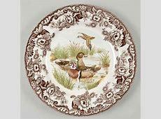 Spode WOODLAND Wood Duck Dinner Plate 4579826   eBay