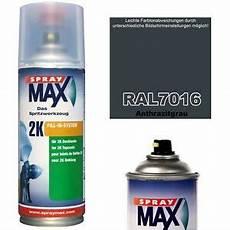 lack ral 7016 anthrazitgrau spraydose 2k lackspray matt seidenmatt gl 228 nzend ral 7016