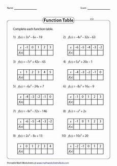 function table worksheet answer key brokeasshome com
