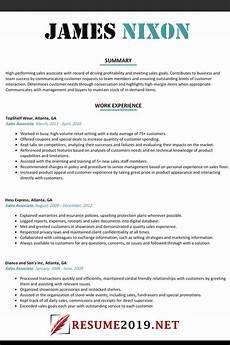 latest resume format 2019 best resume 2019