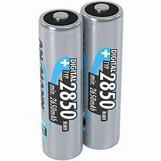ansmann wiederaufladbar akku batterie micro aaa typ