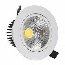 spots led osram aluminum cob led spot 12w shape round and square
