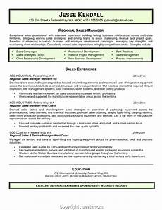 newest regional sales manager resume objective resume