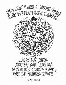 mandala coloring pages with quotes 17979 motivation mandalas coloring book inspiration for synchronista