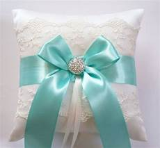 wedding ring pillow blue ribbon pillow with by jlweddings 42 50 wedding ideas