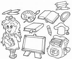 Www Ausmalbilder Info Malbuch Malvorlagen Schule Ausmalbild Schule Rund Um Die Schule Kostenlos Ausdrucken
