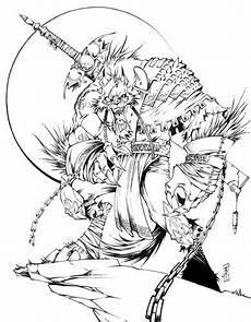 Malvorlagen Wolf Warrior Warrior Wolf By Kan J On Deviantart