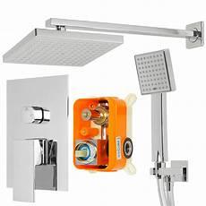 armaturen dusche unterputz unterputz brause dusche set duschset armatur regenbrause