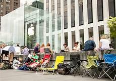 Bild Des Tages Warten Auf Das Neue Iphone 6 Vor Dem Apple