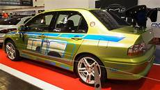mitsubishi lancer evolution 7 2002 rs spec tuning at essen