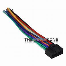 16 wire harness for select 2010 up jvc car radio