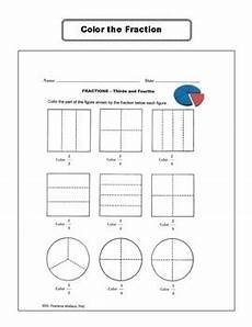 fraction activities worksheets 2nd 3rd and 4th grade common core aligned