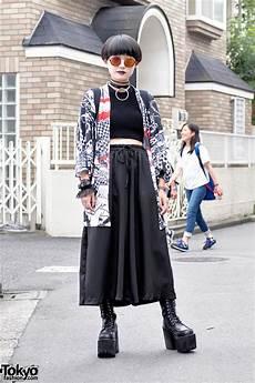 harajuku street style w acdc rag kimono jacket glad news