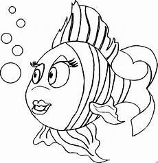 Ausmalbilder Meerestiere Zum Ausdrucken Regenbogenfisch Mit Blasen Ausmalbild Malvorlage Comics