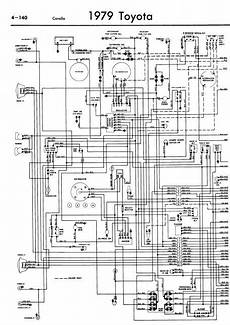 repair manuals toyota corolla 1979 wiring diagrams