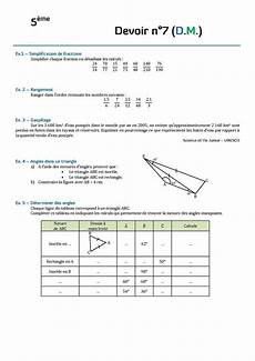 Http Www Mathovore Fr Controles Maths 5 Frac Angles Jpg