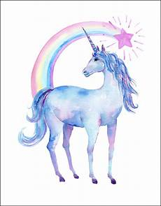 free printable watercolor unicorn pictures oh my creative