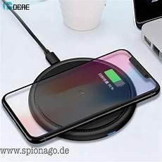 qi wireless ladeger 228 t f 252 r iphone x iphone 8 kaufen