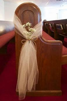 20 tulle wedding pew decor wedding burlap bows and flowers