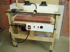 A Thickness Drum Sander I Built Used