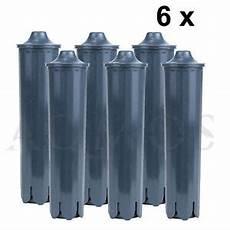 6x jura 71793 claris smart filter cartridge water filter