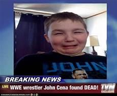 breaking news wrestler cena found dead