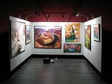 propanels battery powered art show booth lighting
