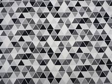 Tapete Schwarz Weiß Muster - stoff grafische muster jersey dreieck schwarz wei 223 grau