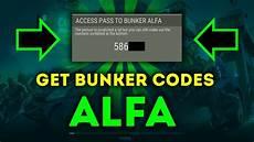bunker alfa code how to get bunker alfa code easy way last day on