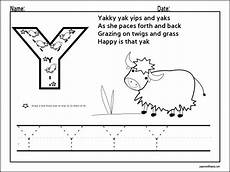 Letter Y Worksheets For Preschool Preschool And Kindergarten
