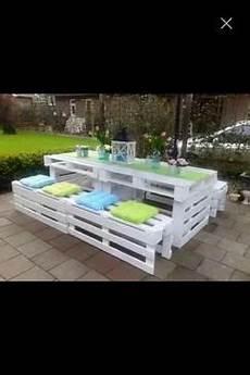 Tolle Sitzgarnitur Aus Paletten Garten Gartenregal Und