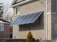 Befestigung Sonnensegel Hauswand - seasonally adjustable wall mount solar panel racking