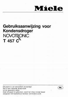bedienungsanleitung miele novotronic t457c seite 1 28