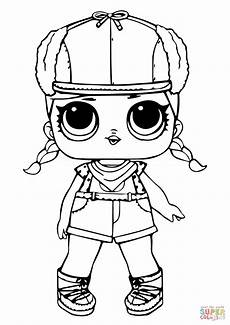 Lol Coloring Pages In Color Lol Doll Brrr B B Coloring Page Free Printable