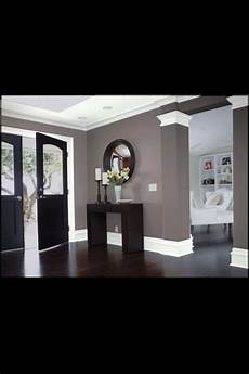 love the wall color and contrast with the woodwork and