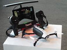 the parrot bebop 2 drone has doubled its battery wired