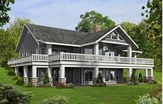 home plans with basement mountain house plan with finished lower level 35508gh architectural designs house plans