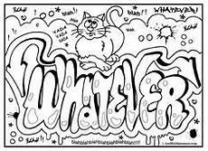 Graffiti Malvorlagen Free Karma Graffiti Free Printable Coloring Page S Ausma