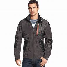 bmw m jacket in black for lyst