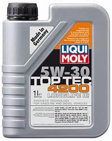 liqui moly top tec 4200 5w30 synthetic motor xxx20xx