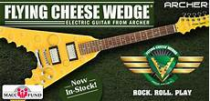Flying Cheese Wedge 174 Electric Guitar Lands In Wisconsin
