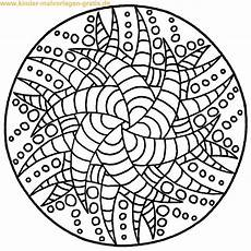 ausmalbild mandala zum ausdrucken mandalas