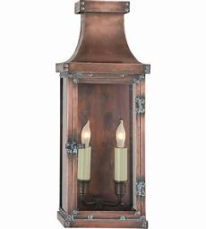 visual comfort cho2152nc e f chapman bedford 2 light 17 inch natural copper outdoor wall lantern