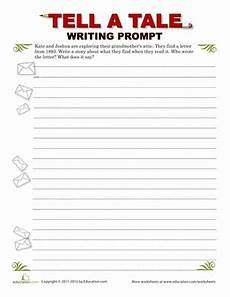 creative writing mystery letter worksheet education com