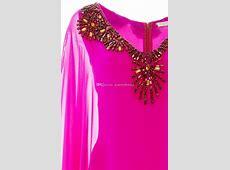 2016 Beaded Embellishment Caftans Arabic Dresses Dubai